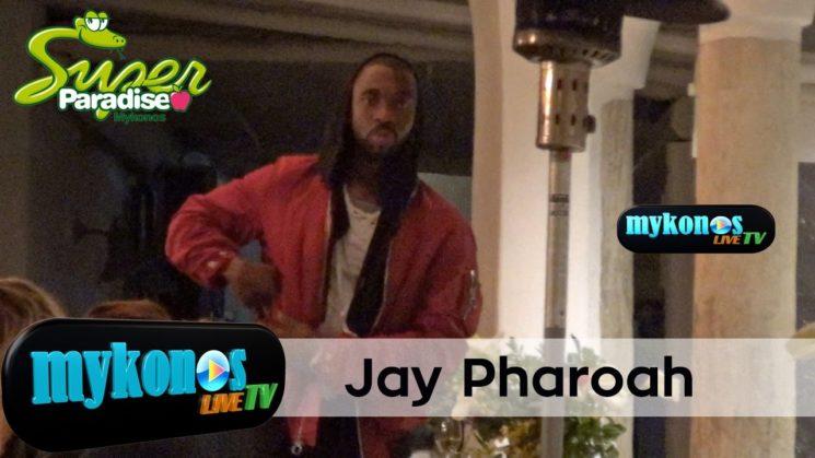Jay Pharoah  ο ηθοποιος και  μιμος των σταρ του Χολλυγουντ στην Μυκονο!