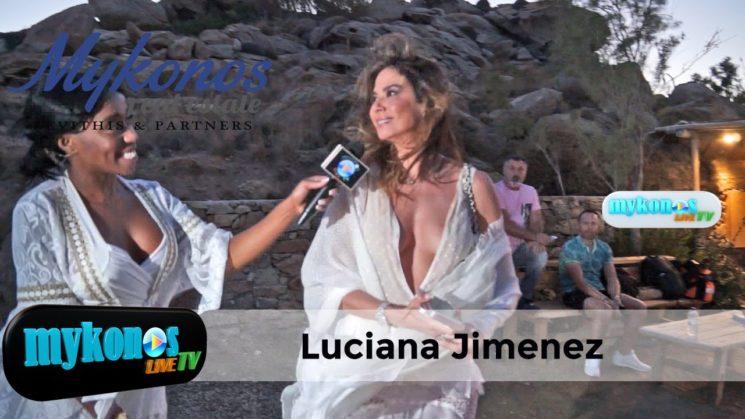 η Βραζιλιανα γυναικαρα Luciana Jimenez που μαγνητισε τα βλεμματα στην γαμηλια δεξιωση Barros Chiaty