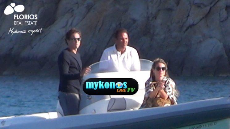 Heidi Klum, 43, and her boyfriend Vito Schnabel, 30, on vacation in Mykonos!