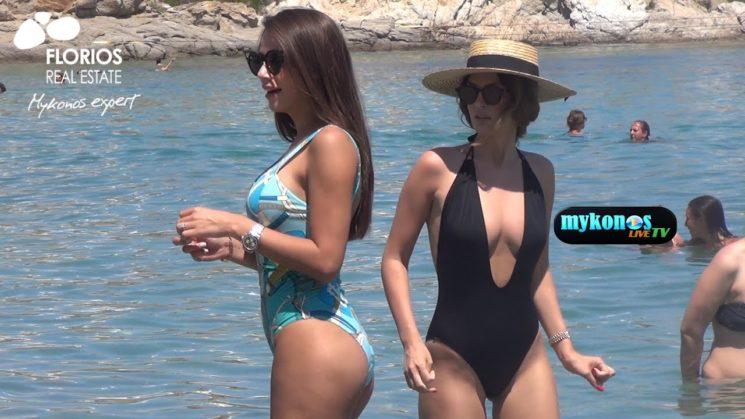 Raluca Ogica & Oana Marica διπλο χτυπημα απο Ρουμανες γυναικαρες στην Μυκονο!