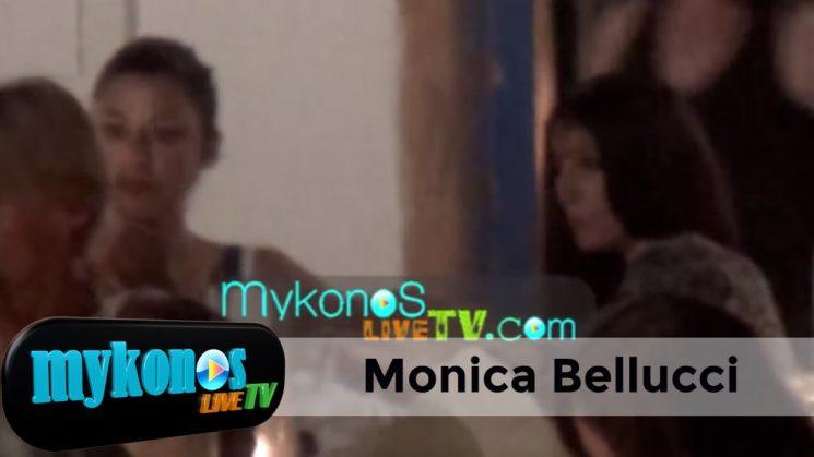 οι πρώτες μοναχικές διακοπές της Monica Bellucci, μετά τον χωρισμό της στη Πάρο!