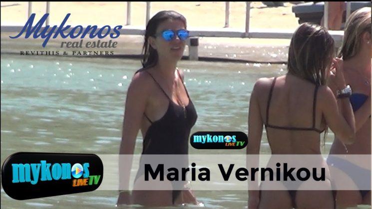Mamma mia! η Μαρινα Βερνικου ταραξε τα νερα της Ψαρρους με το καλλιγραμμο κορμι της!