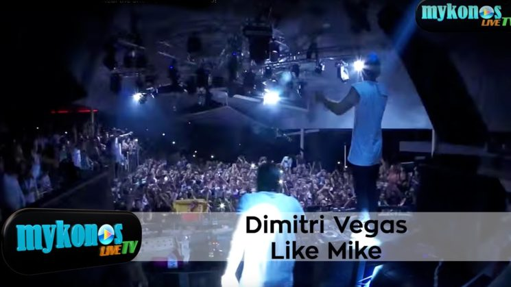 Dimitri Vegas & Like Mike το κορυφαιο διδυμο DJ του κοσμου παρταρει στο Cavo Paradiso