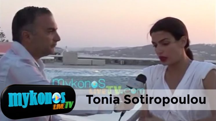 Tonia Sotiropoulou in Skyfall! James Bond's girl interview in Mykonos
