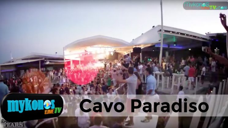 Cavo Paradiso is one of the hottest party destinations