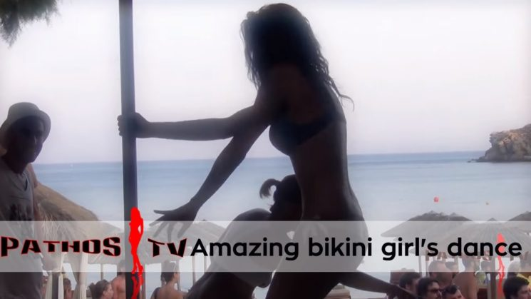 Amazing bikini girl's dance – Bikini girl super hot danza