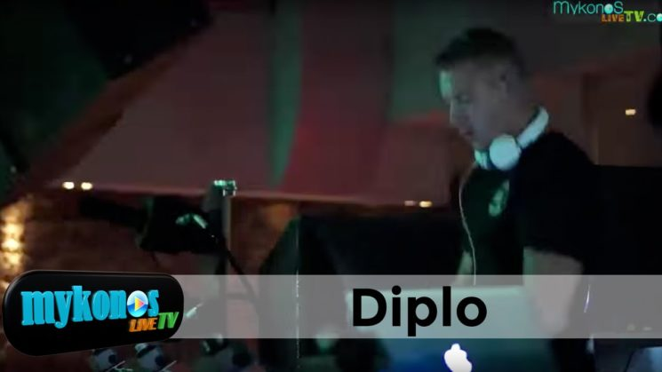 Χαμός στο πάρτυ του Diplo στο Cavo Paradiso I Epic Party with Diplo in Cavo Padise