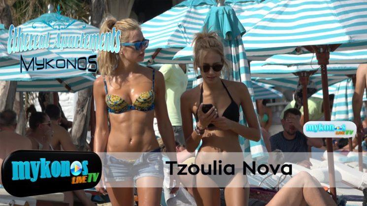 Γυναικαρα με τα ολα της! η Τζουλια Νοβα τρελανε την Ψαρρου με το καυτο σορτς και τους κοιλιακους της