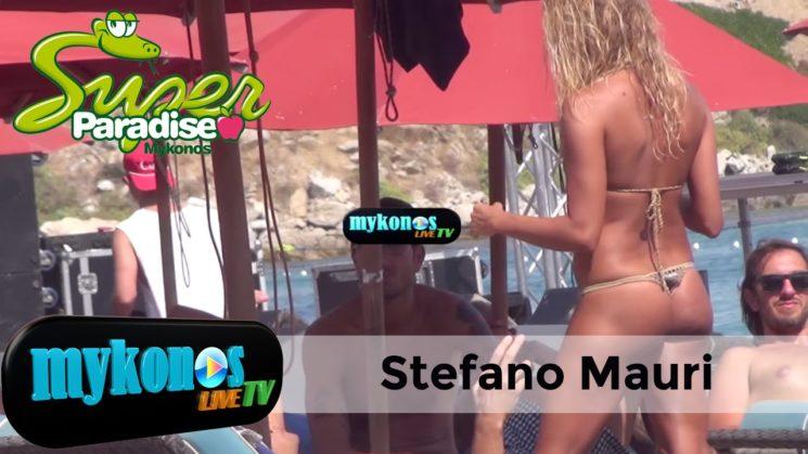 ο ιταλος Στεφανο Μαουρι εβγαλε νοκ αουτ τις γυναικες με το σεξαπιλ του στην Ψαρρου- Stefano Mauri si gode le vacanze a Mykonos