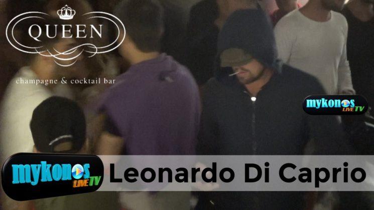 Video exclusive by Mykonos Live Tv Leonardo di Caprio enjoys vacation in Mykonos