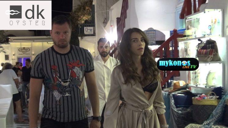 η Ρουμανα καλλονη Oana Marica βγηκε με μαυρα εσωρουχα στα Ματογιαννια!