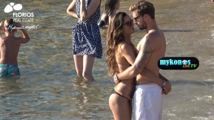 Exclusive video top model Izabel Goulart full in love with Kevin Trapp in Mykonos-Το ασυγκρατητο ζευγαρι Kevin Trapp-Isabel Goulart στην Μυκονο!