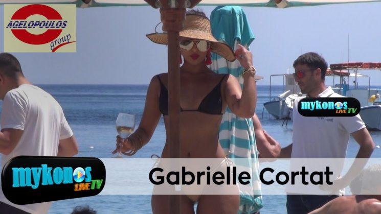 ο λογος για να αρρωστησετε εχει ονομα και ειναι στην Μυκονο Gabrielle Cortat