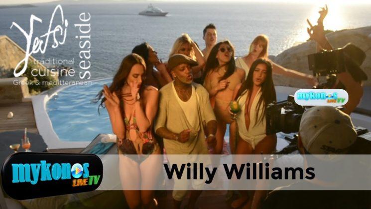 Παγκοσμια διαφημιση για την Μυκονο το νεο video clip του Willy Williams με φοντο το νησι των Ανεμων
