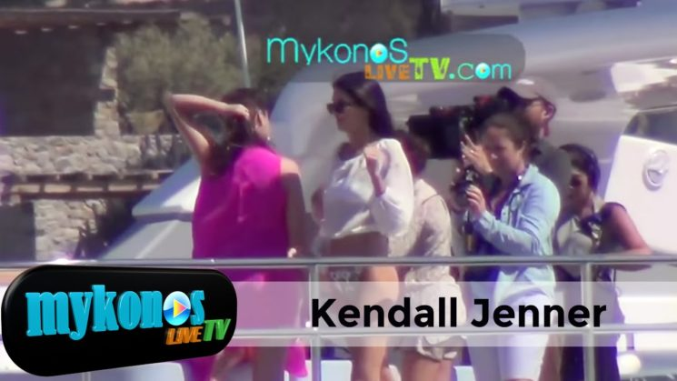 Kendall Jenner στην Μυκονο ι Kendall Jenner show in Mykonos