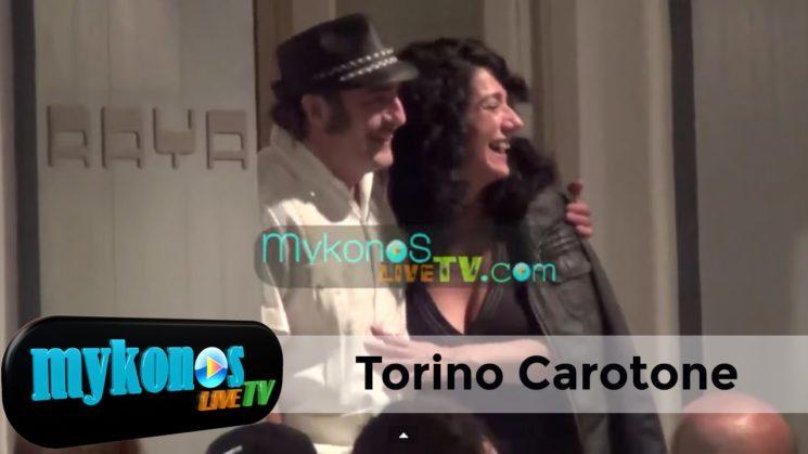 ο Tonino Carotone στη Μυκονο I Torino Carotone in Mykonos