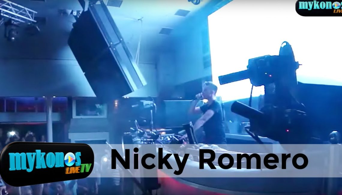 Great party at Cavo Paradiso with Nicky Romero